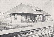 CL&N Hopkins Avenue depot