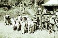 COLLECTIE TROPENMUSEUM Militaire kolonne met baboes op weg naar Soekaboemi tijdens de eerste politionele actie TMnr 10029184.jpg