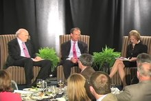 File:CRFB Annual Conference - Dinner Discussion with Judy Woodruff, Alan Simpson and Erskine Bowles.webm