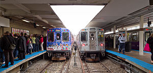 CTA Holiday Train at Kimball 20121201.jpg