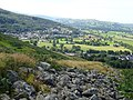 Caer Drewyn Celtic Hillfort between the Clwydian Range and the Berwyn Mountains, Corwen, Wales; early Iron Age 07.jpg