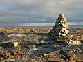 Cairn at NG106914 looking out over the Minch - geograph.org.uk - 1633393.jpg