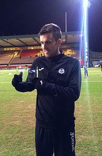 Callum Booth Scottish footballer