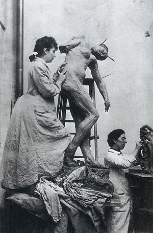 Jessie Lipscomb - Jessie Lipscomb (right) and Camille Claudel in their Paris studio