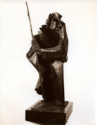 Rafael Pi Belda - Caminante, Rafael Pi Belda (artist's private collection).