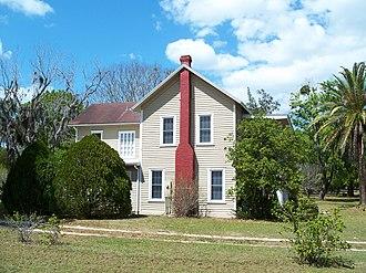 National Register of Historic Places listings in Lake County, Florida - Image: Campbellhouseokahump ka 6