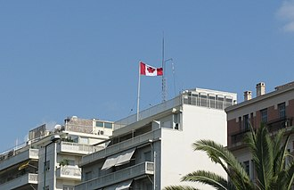 Canada–Greece relations - Image: Canadian embassy in Athens