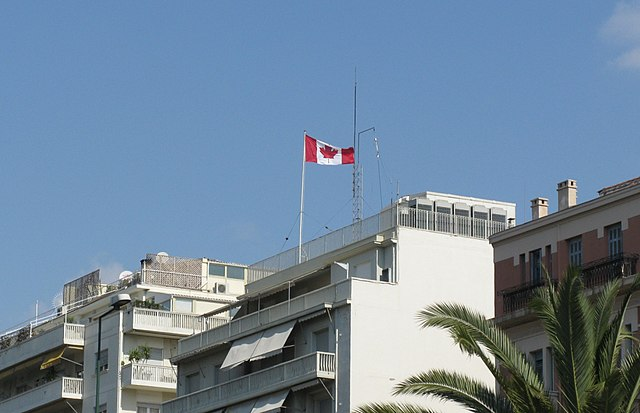 Canadian Embassy in Athens By Tilemahos Efthimiadis from Athens, Greece [CC-BY-2.0 (https://creativecommons.org/licenses/by/2.0)], via Wikimedia Commons