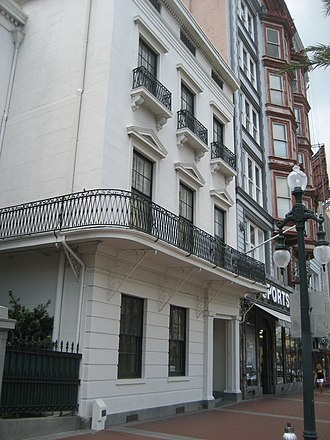 The Boston Club - The Boston Club of New Orleans, Dr. William Newton Mercer House