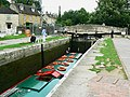 Canal boat on the way down the Kennet and Avon canal (8) - geograph.org.uk - 1443398.jpg