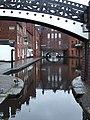 Canal by Gas Street Basin, Birmingham - geograph.org.uk - 964993.jpg