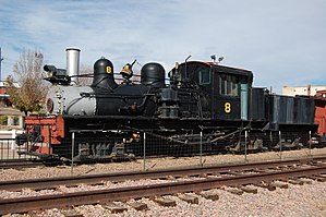 West Side Lumber Company railway - Image: Canon City West Side Lumber Co 8 Side 2012 10 28