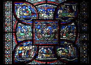 Came glasswork - Canterbury, Canterbury cathedral-stained glass