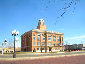 Canyon, Texas - Randall County Courthouse in downtown Canyon, Texas.