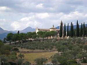 Capestrano - Image: Capestrano convent 2007 007