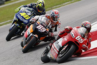 Motorcycle racing - MotoGP racing