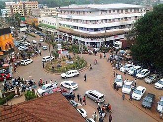 Kisii, Kenya - Capital roundabout