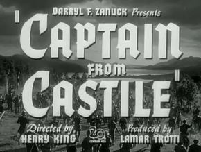Description de l'image Captain from Castile Henry King 1947.png.