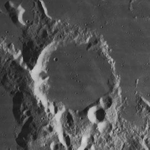 Capuanus (crater) - Image: Capuanus crater 4131 h 3