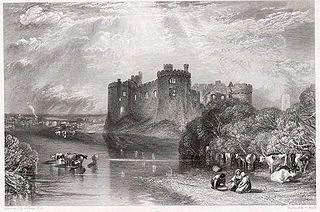 Carew Castle, Pembroke