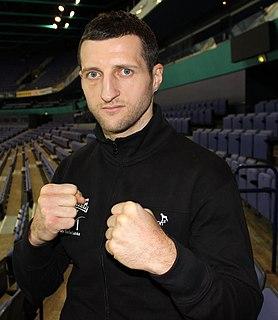 Carl Froch English boxer