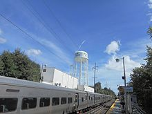Carle Place LIRR Station and Water Tower.jpg