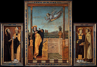 Annunciation Triptych