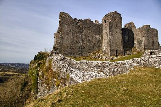 Carmarthenshire-Carreg Cennen Castle