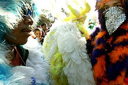 feather men, carnival Dominican Republic. photographer: www.hotelviewarea.com, Carnaval en République Dominicaine