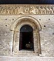 Carrión de los Condes Church of Santiago 001 Romanesque portal Pantocrator.jpg