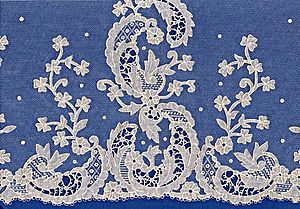 Carrickmacross lace - Carrickmacross lace