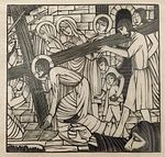 Carrying of the Cross, Eric Gill.jpg