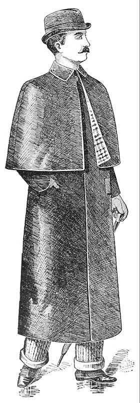 illustration de Mackintosh (manteau)