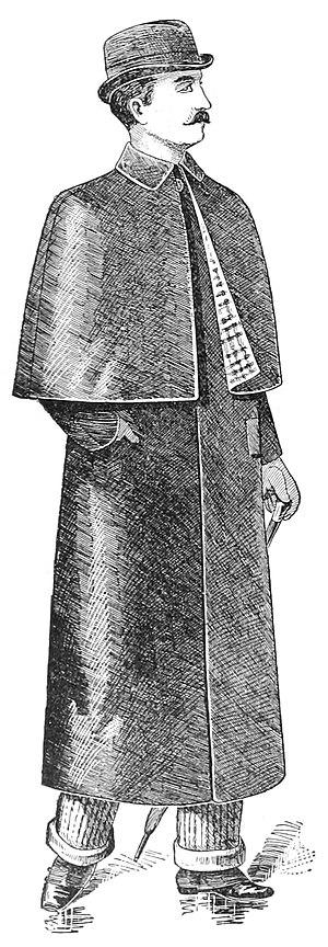 Mackintosh - A gentleman's Macintosh, from an 1893 catalogue