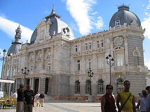 Cartagena, Spain - Image: Cartagena palacio consistorial 5