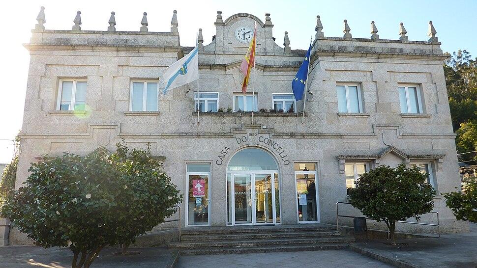 Casa do concello das Neves