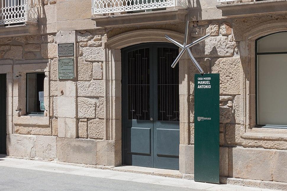 Casa museo de Manuel Antonio. Rianxo. Galiza