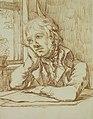 Caspar David Friedrich - Selbstbildnis mit aufgestütztem Arm (ca. 1802).jpg