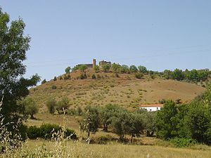 Montemor-o-Novo - Image: Castelo de Montemor o Novo 5