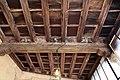 Castiglione olona, palazzo branda, interno, loggetta alla fiorentina, soffitto con stemmi e motti, 1420-50 ca. 01.jpg