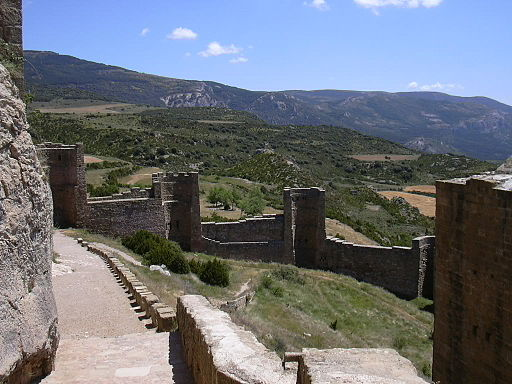 Castillo de Loarre - Murallas 03