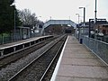 Castle Bar Park stn look south.JPG