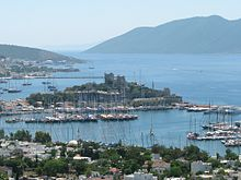 Castle of St. Peter in Bodrum, Turkey.jpg