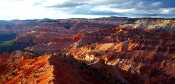 Overview at Cedar Breaks National Monument, Utah