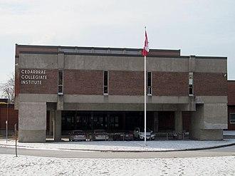 Cedarbrae Collegiate Institute - Image: Cedarbrae CI