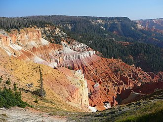 Cedar Breaks National Monument - Cedar Breaks amphitheater