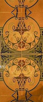 Ceràmica (Rajola de València). Espai públic d'Aldaia (País Valencià) 6.jpg