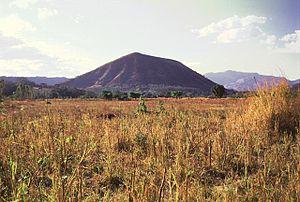 Cerro Singüil (also known as El Cerrón) in El ...
