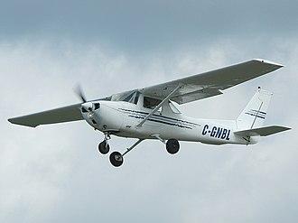 2015 Moncks Corner mid-air collision - Image: Cessna 150M AN0931537