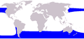 Cetacea range map Right Whale Dolphin.png